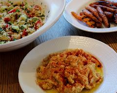 Hummus + grillede guløtter