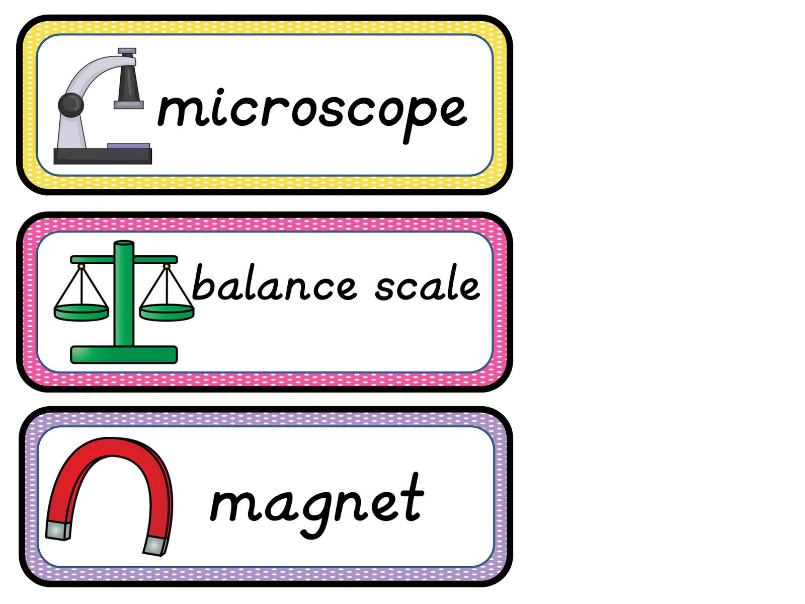 Classroom Freebies Too August 2014 – Science Tools Worksheet
