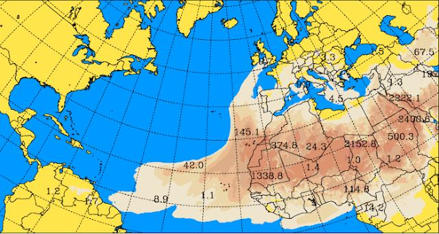 la tregua de la calima en Canarias para volver en nochevieja