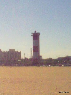 Light house @ Marina Beach