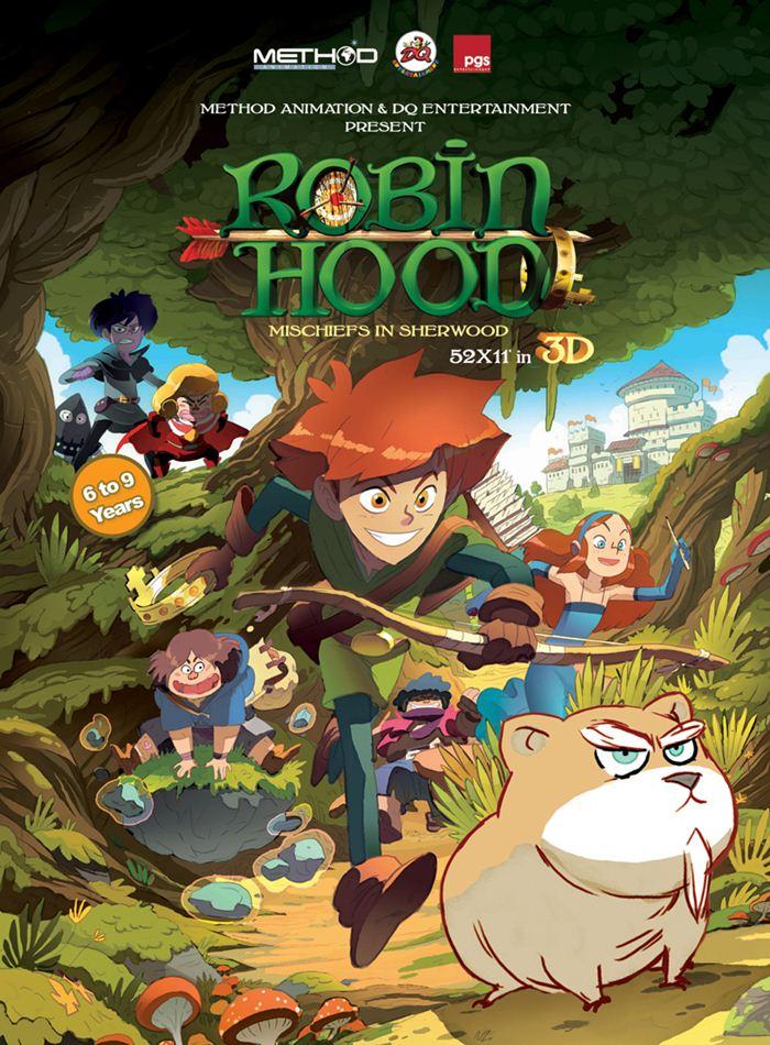 infoanimation com br conheça o novo desenho animado de robin hood