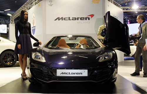 Supercars at 2012 Bologna Motor Show