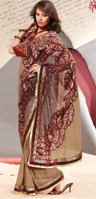 Indian Saree Designs Pattern