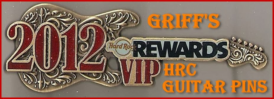 Hard Rock Cafe Guitar Pins