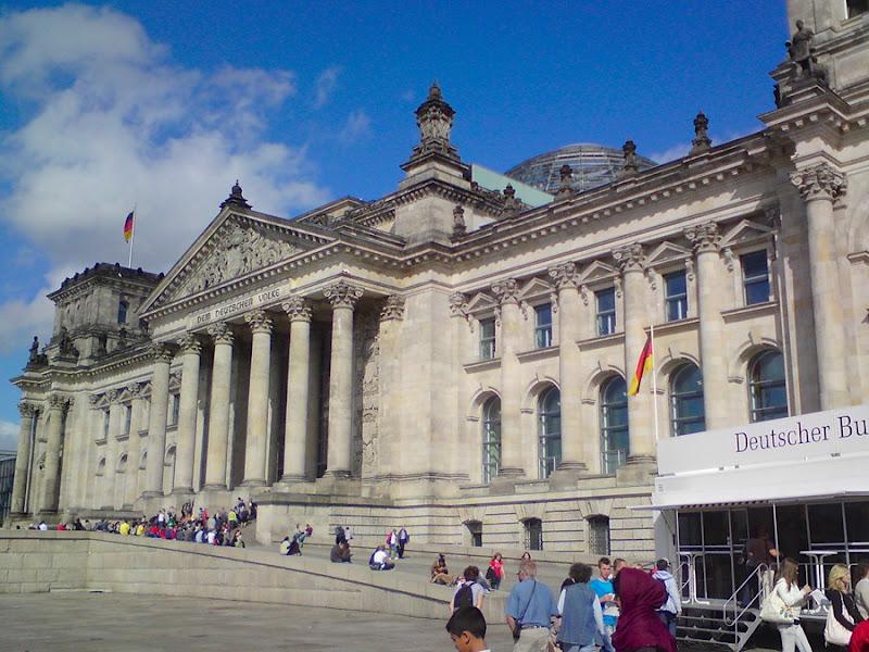 Reichstag, Bundestag Berlín