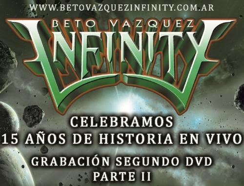http://elvuelodelaesfinge.com.ar - beto vazquez infinity festejando 15 años