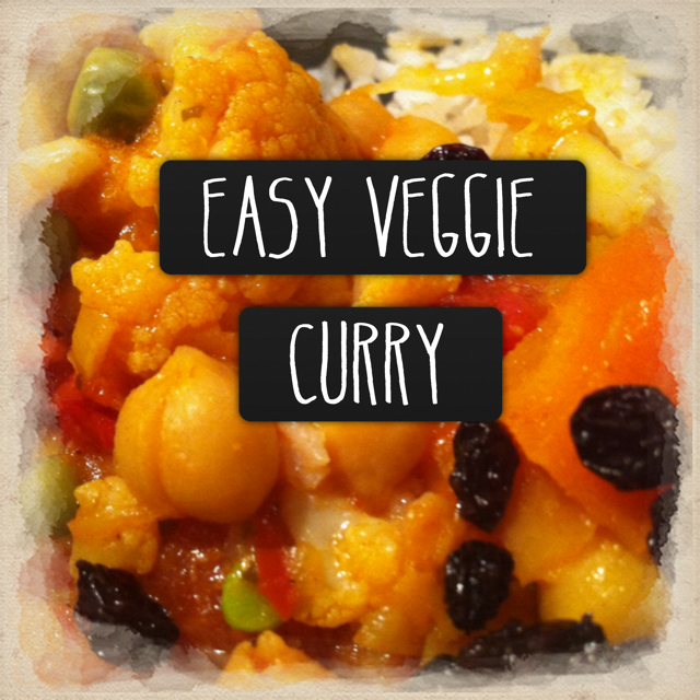 Recipe: Easy Vegetable Curry - Beyond The Trolley
