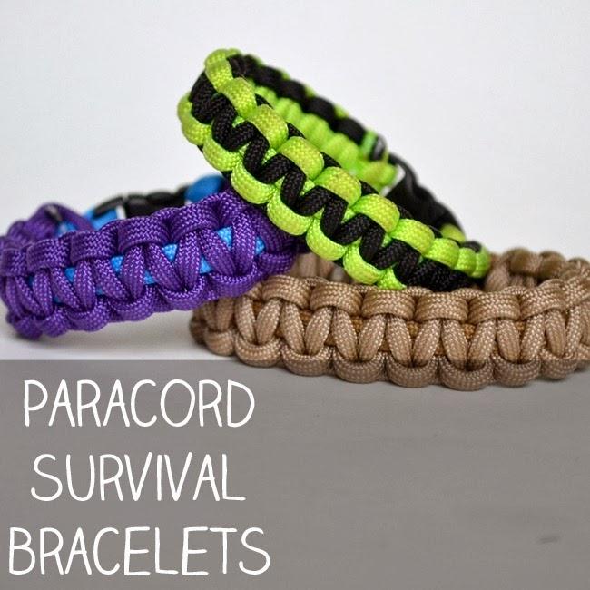 how to make a paracord survival bracelet