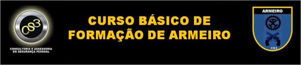 CURSO DE FORMAÇÃO DE ARMEIRO