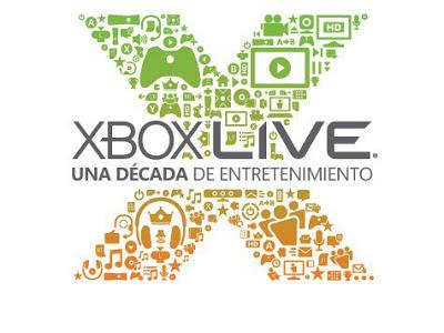 Continuamos con la celebración de los 10 años de Xbox Live