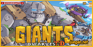 juego giants and dwarves td