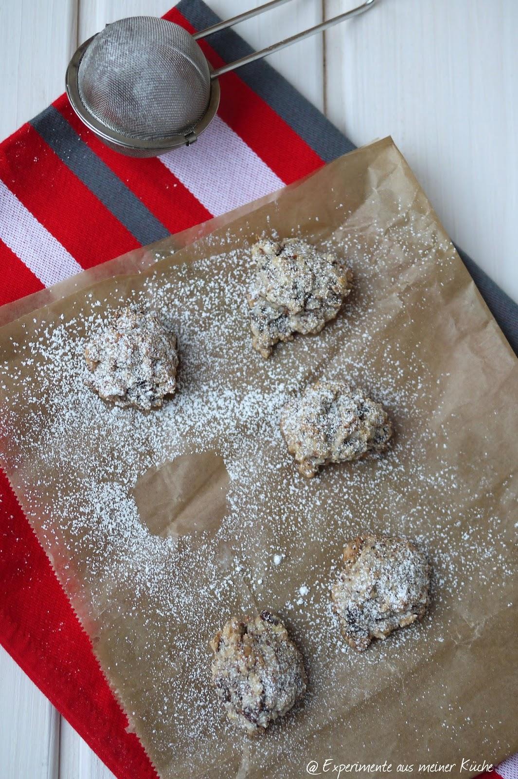 Experimente aus meiner Küche: Dattel-Nuss-Makronen