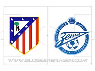 Prediksi Pertandingan Zenit vs Atletico Madrid