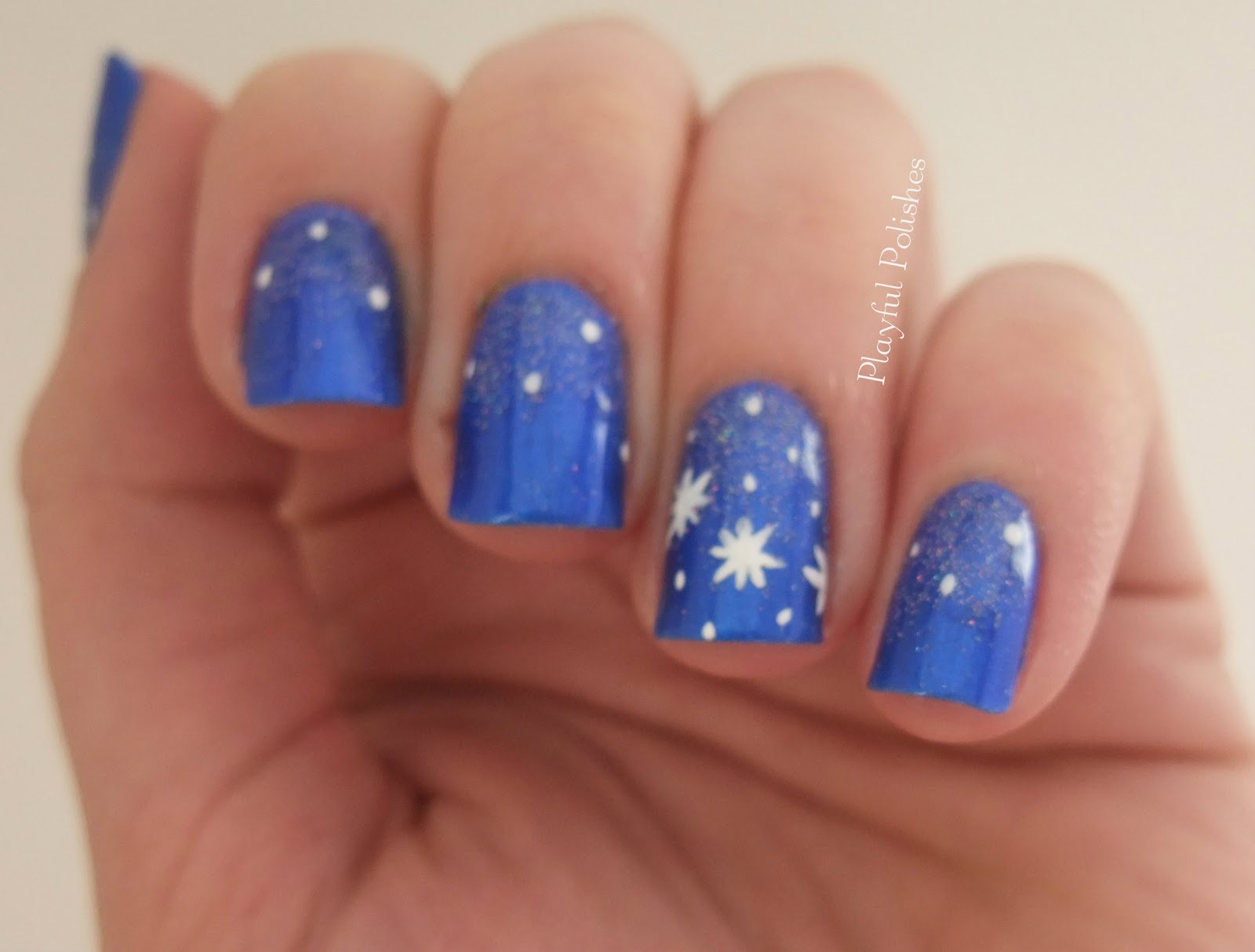 Playful Polishes January Nail Art Challenge Day 16