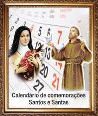 Calendário de Comemorações