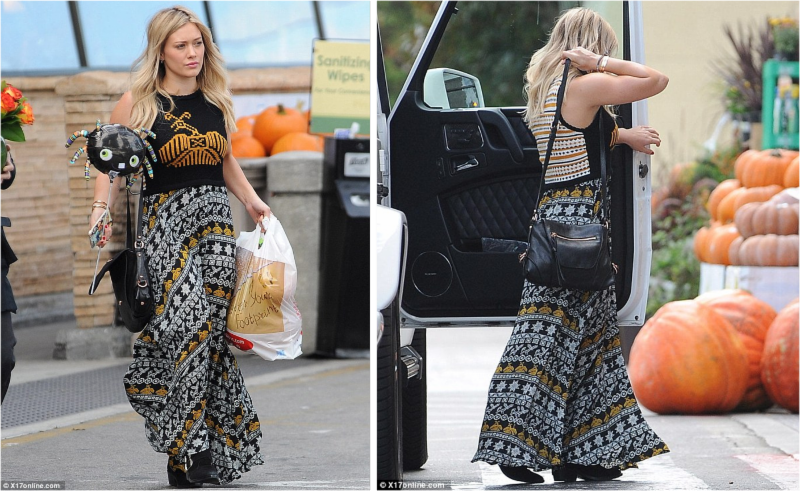 Hilary Duff Boho Chic with Kooba