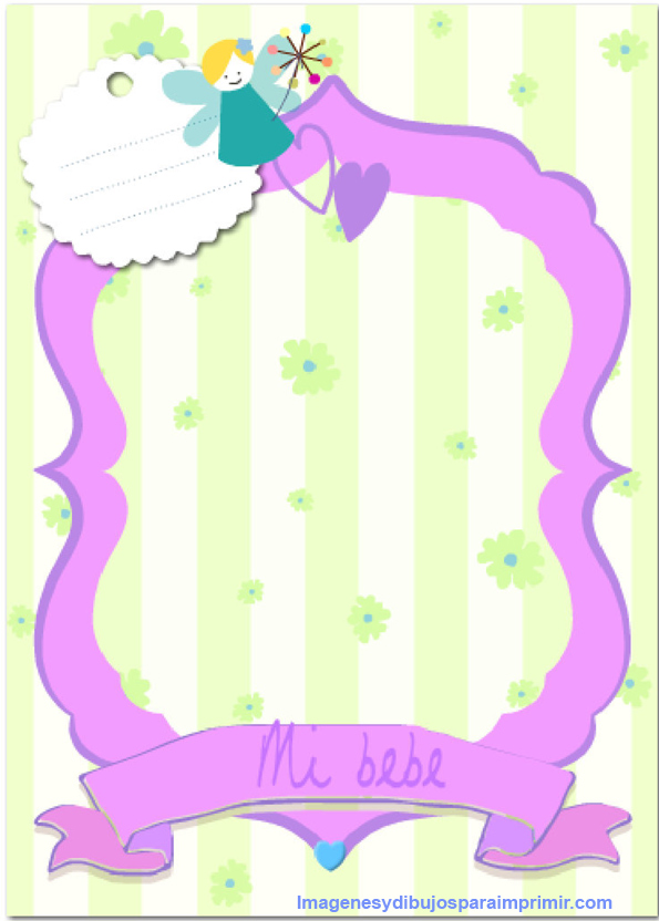 print frames baby shower