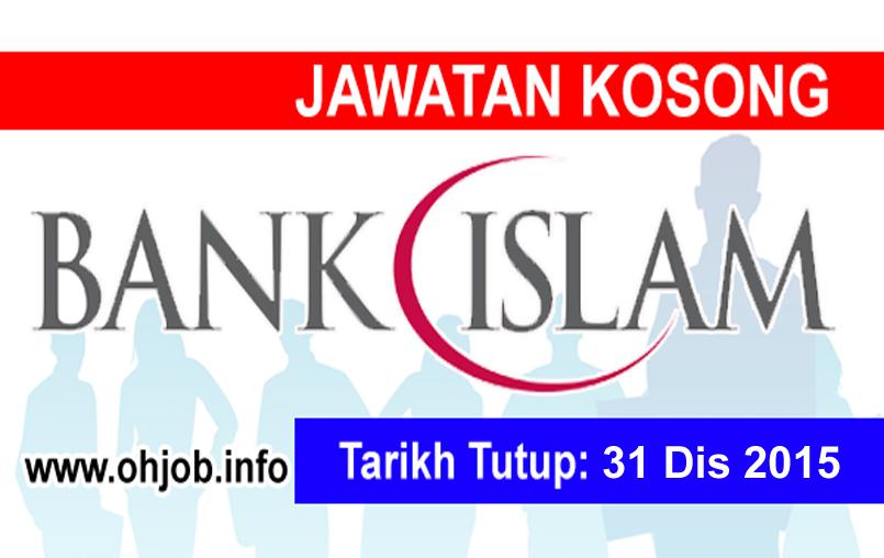 Jawatan Kerja Kosong Bank Islam Malaysia Berhad logo www.ohjob.info disember 2015