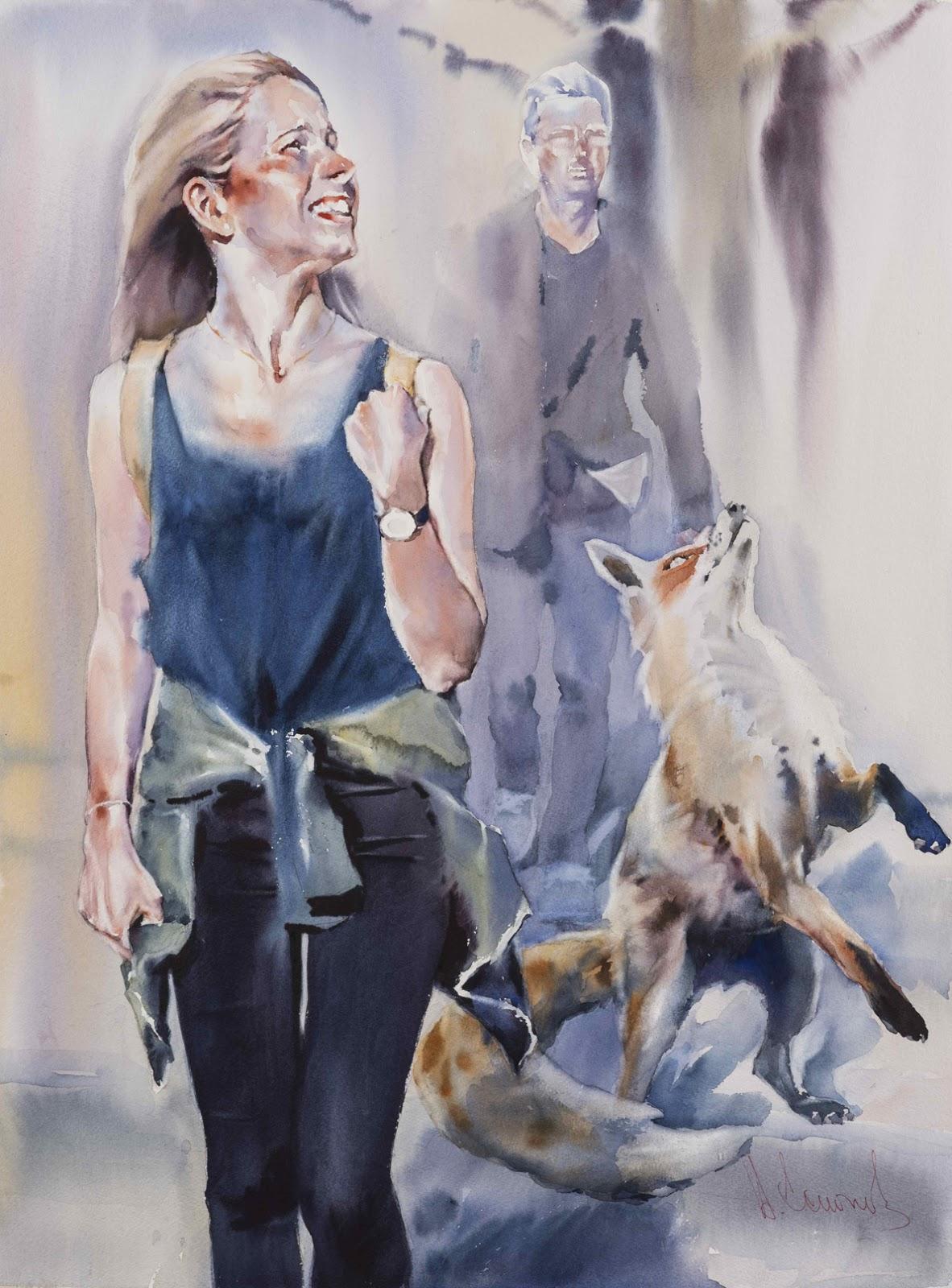 Andrey Esionov Foxy lady