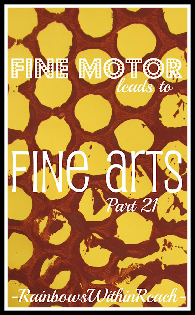 photo of: Fine Motor Leads to Fine Arts, Part 20, Giraffe Edition