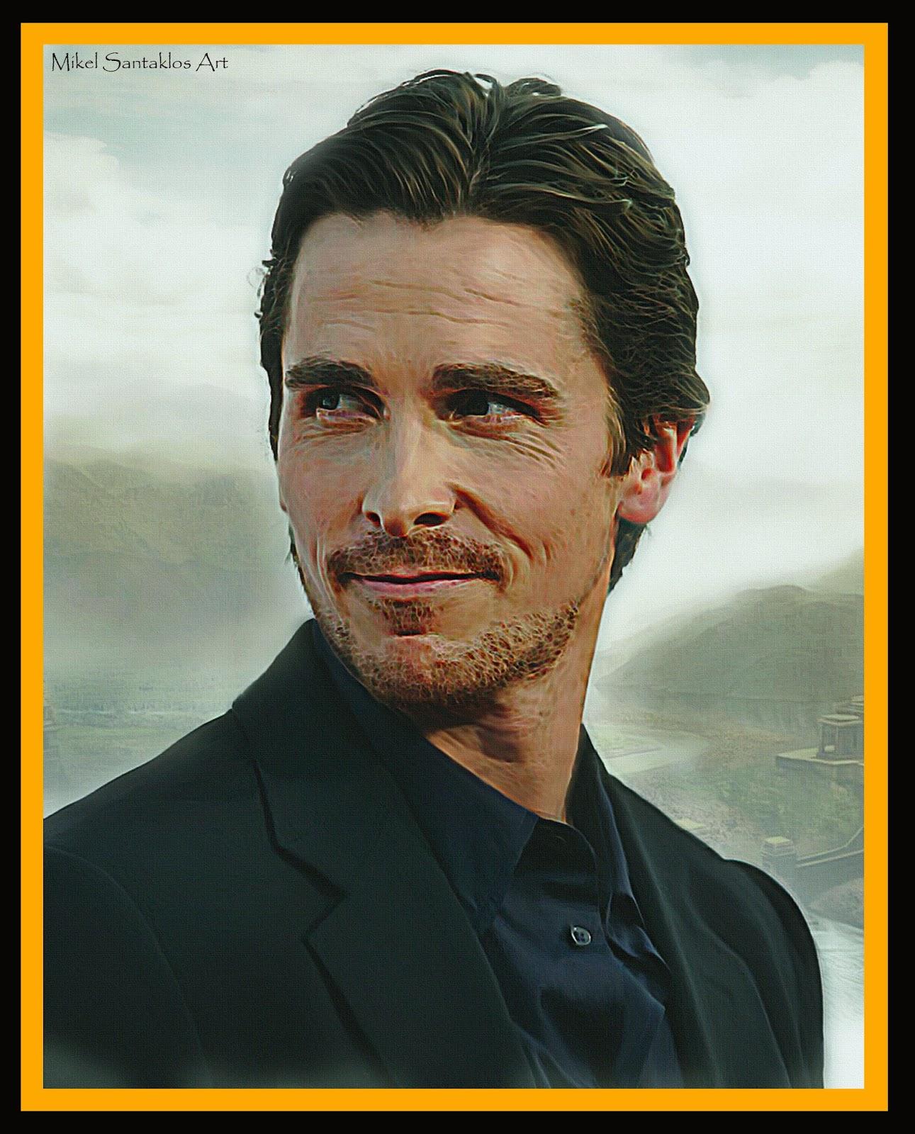 Mikel Santaklos Art : Christian Bale ~ MIKEL SANTAKLOS Art ... Christian Bale