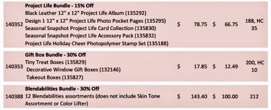 Stampin' Up! Online Extravaganza 2014 Door Buster Discounts