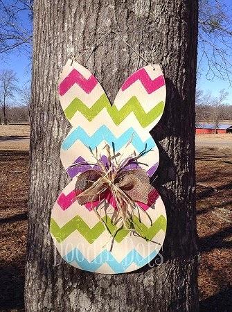 Ideas para Reciclar Madera por Pascua, Conejos, II Parte