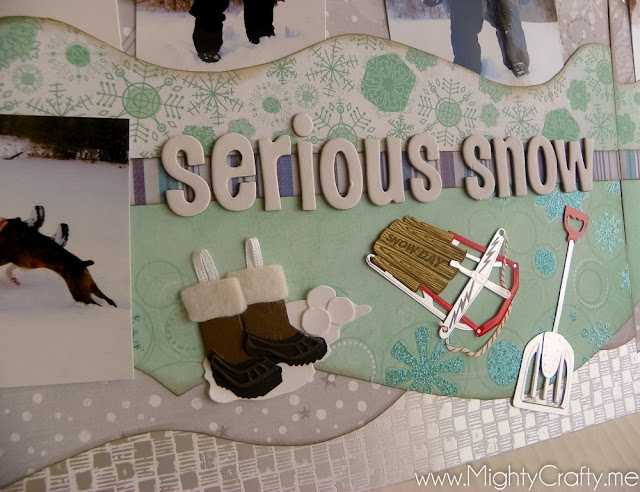 Serious Snow - www.MightyCrafty.me