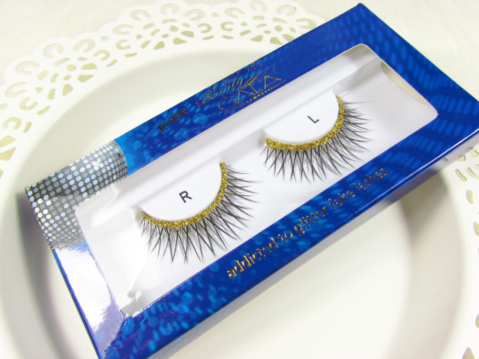 p2 Fabulous Beauty Gala - ADDICTED TO GLITTER FAKE LASHES in 020 party girl