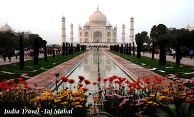 India Travel - Attraction Taj Mahal