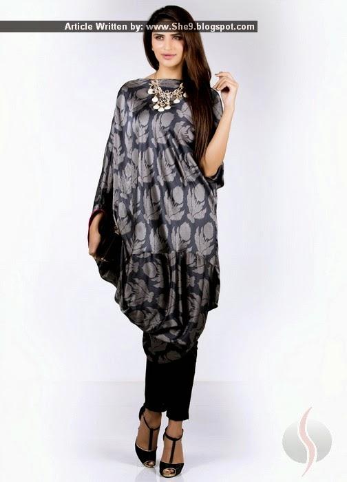Sana Safinaz Silk Tunics