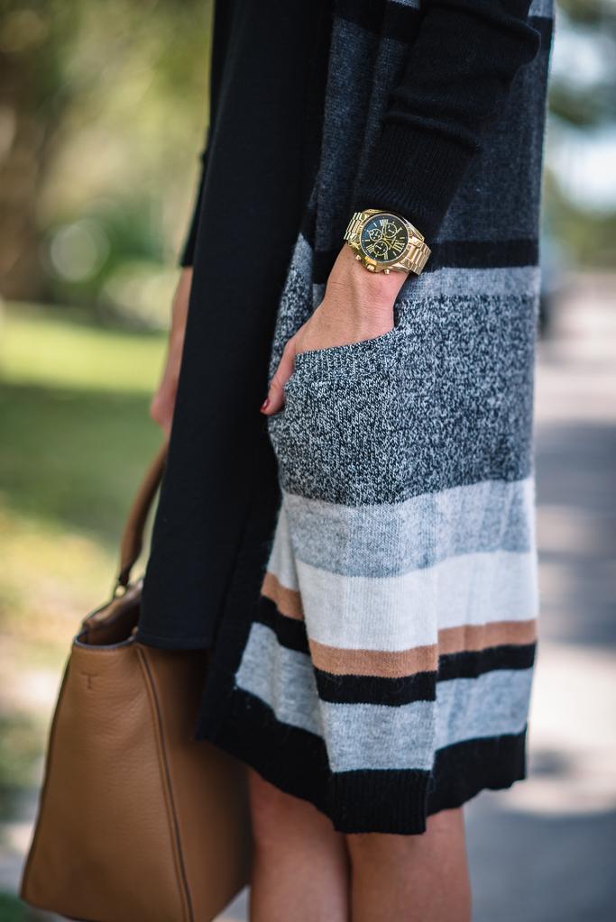Michael Kors Lexington Chronograph Bracelet Watch Alert Large 45mm