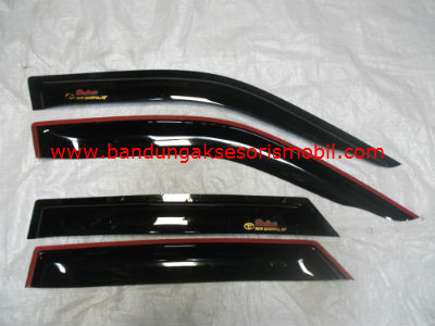 Talang Air New Starlet 96-01 Original Black Depan Belakang