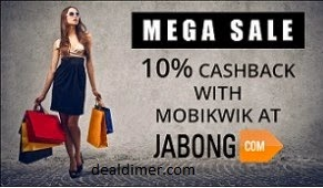 Clothing, Footwear, Accessories & Home Furnishing 50% off or more + Extra 10% Off – Jabong