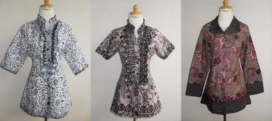 Model Baju Batik Modern Pria Dan Wanita  Blogger Simo