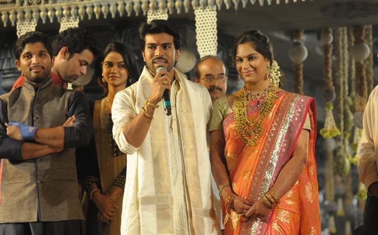 Ram Charan Upasana Wedding Reception For Fans photos -TELUGUCINEMAS.IN ...