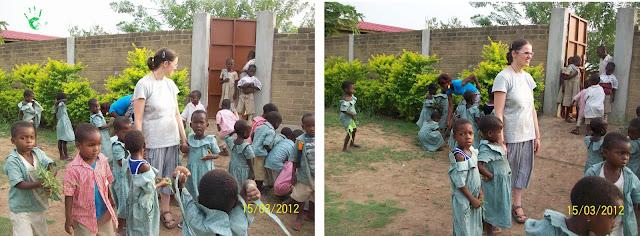 I bambini della scuola togolese della MISSIONE di Atchanvé