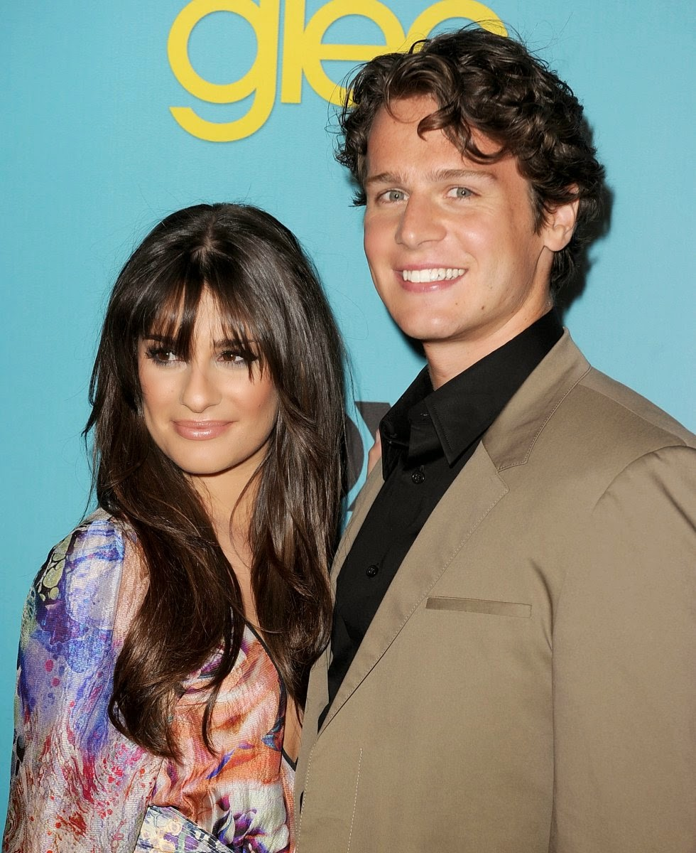Jonathan Groff with his Girlfriend