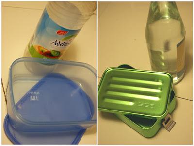 Plastik unterwegs ersetzen