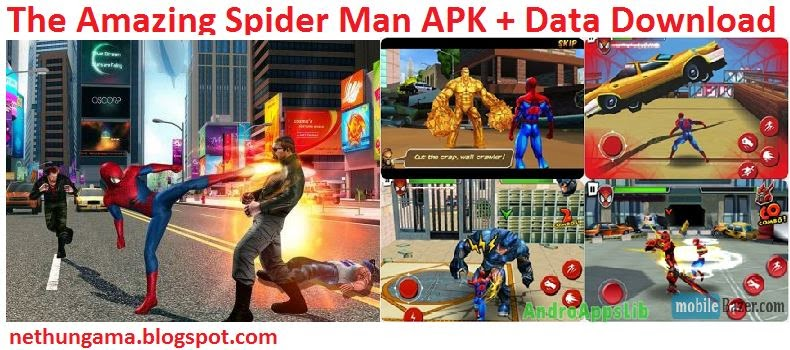 The-Amazing-Spider-Man-APK-Data-Download-Android-APK-File-Download-free