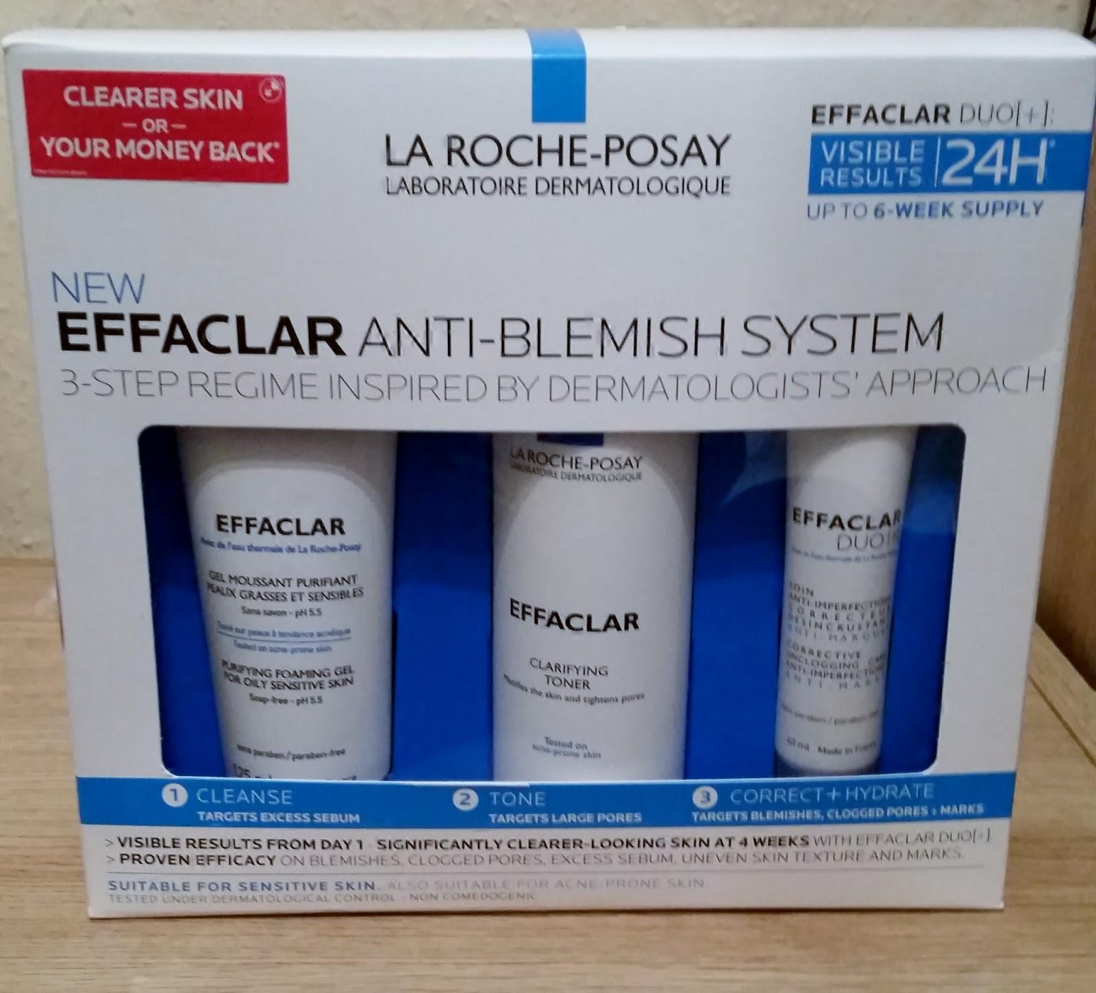 effaclar 3 step system
