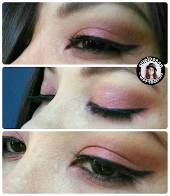 red eye makeup for party or anything purpose