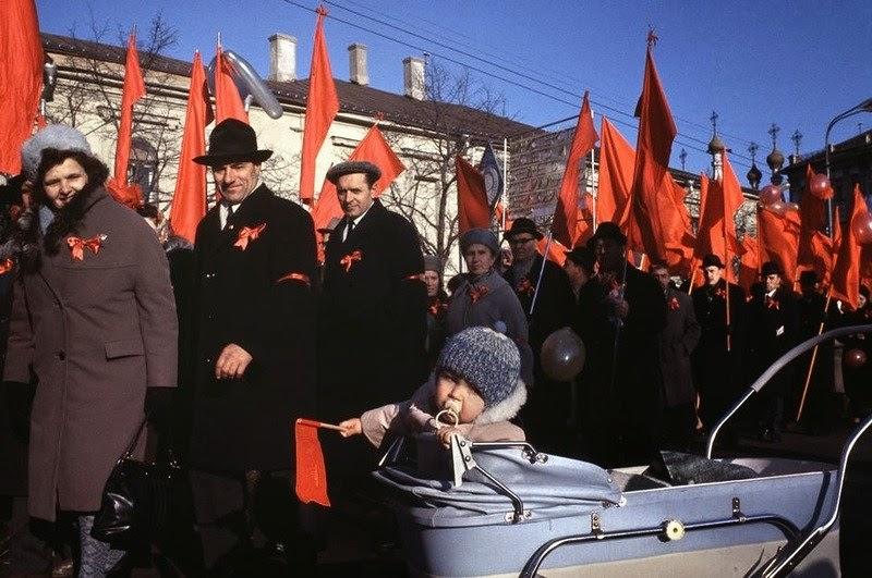 norteamericanos en la URSS