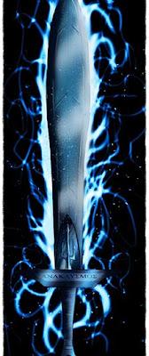 espada do percy jackson, digital art