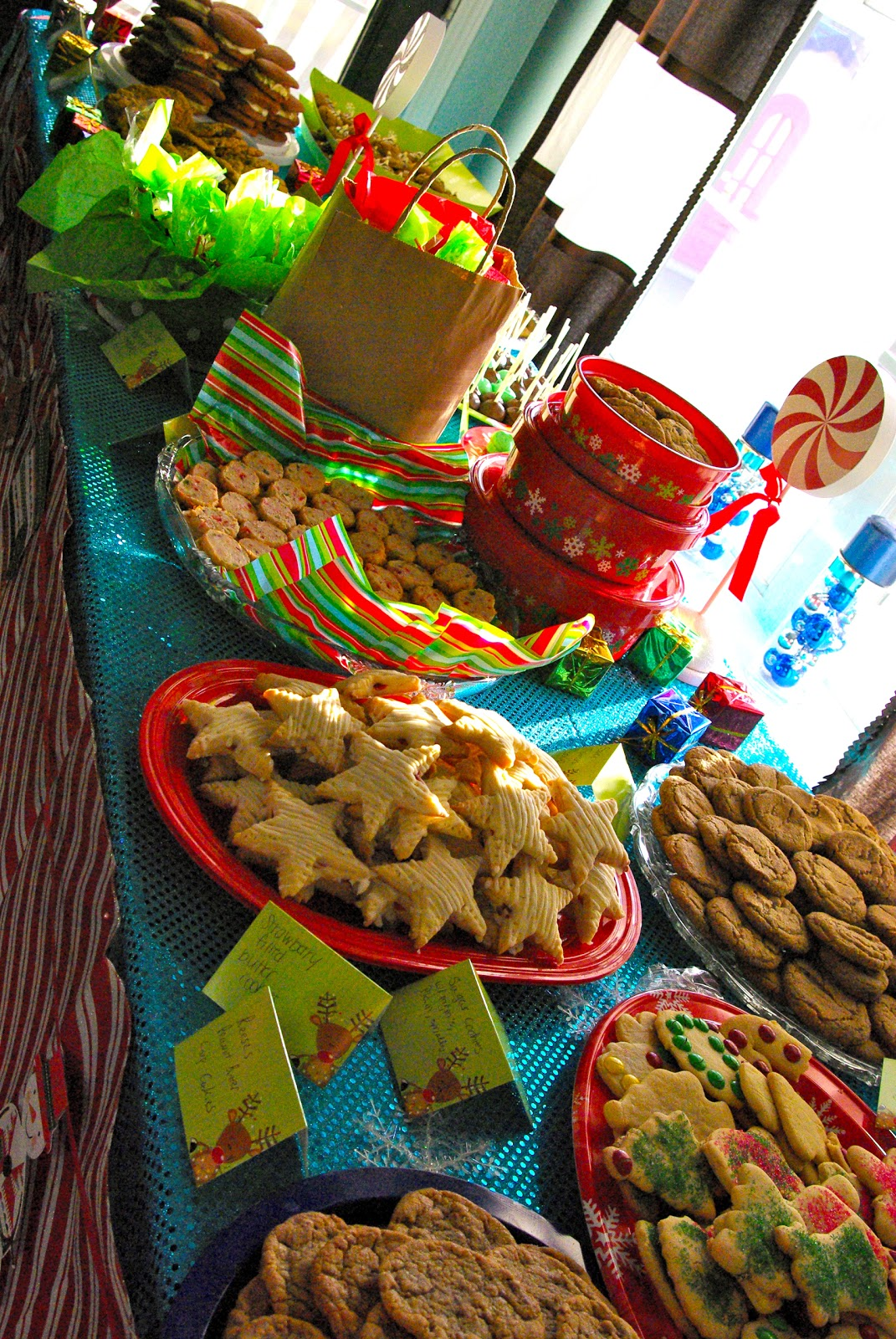 Skinny Meg Cookie Swap Party