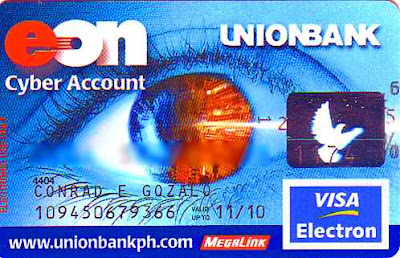 Unionbank Ph EON card