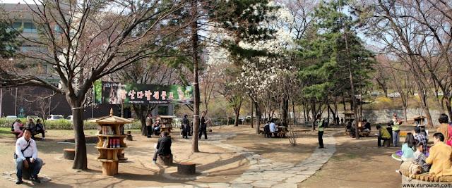 Biblioteca gratuita en Seúl
