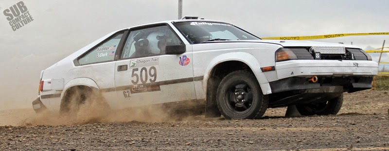 Toyota Supra/Celica rally car