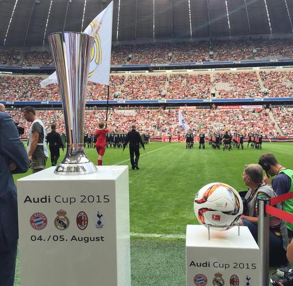 Jelang Final Audi Cup Real Madrid vs Bayern Munic