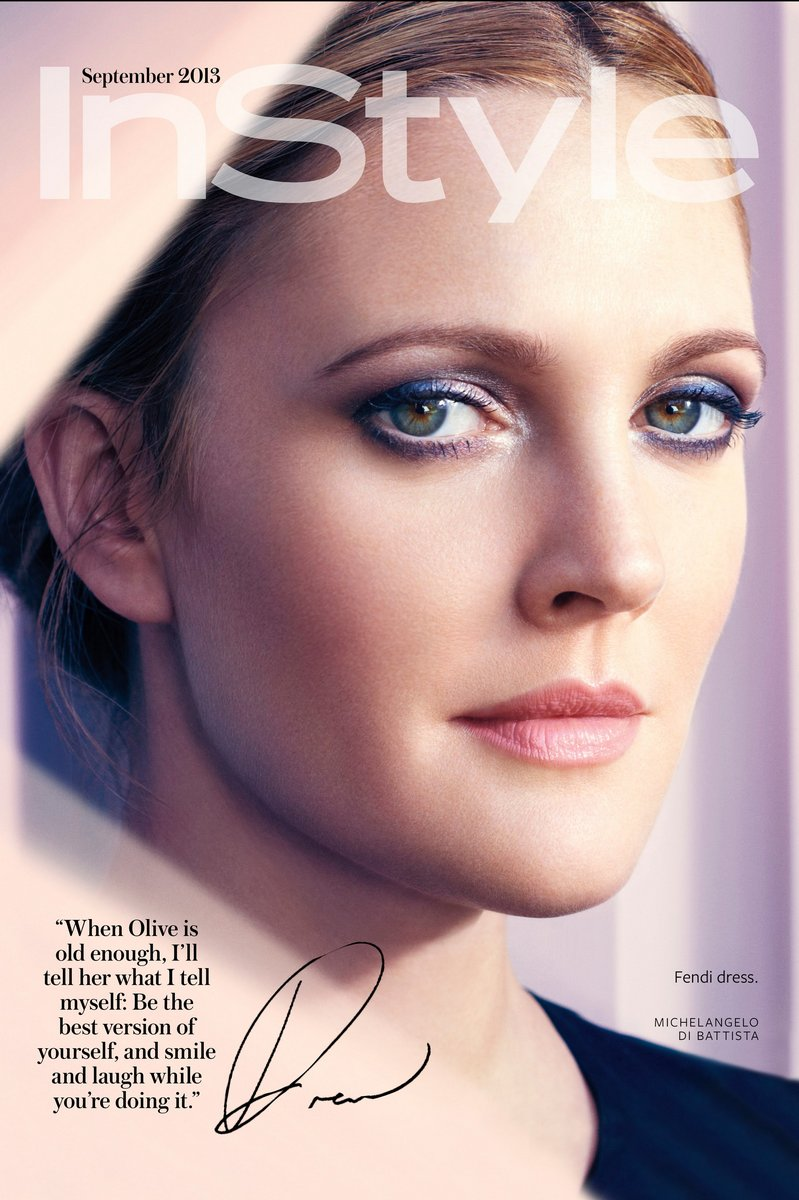 Drew Barrymore August 2013 Drew Barrymore Covers ...